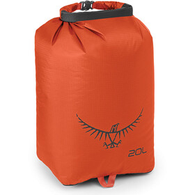 Osprey Ultralight Drysack 20l poppy orange